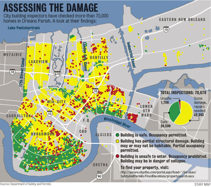 New Orleans Property Zoning Gis Data
