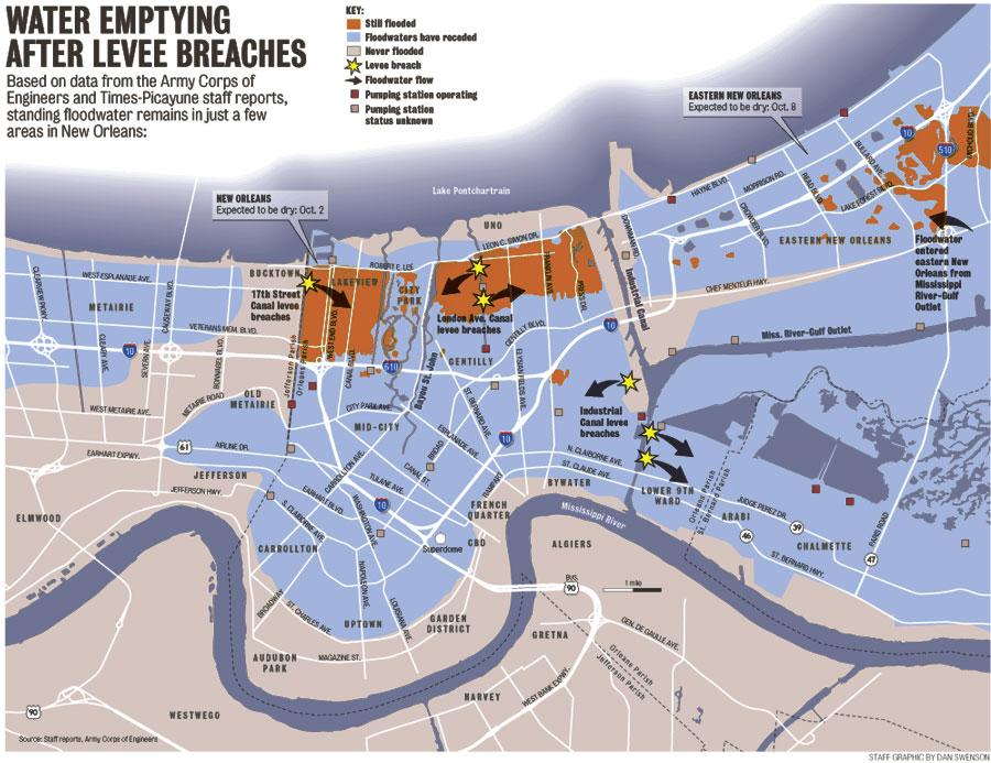 Hurricane Katrina Graphics on patricia flooding map, sandy flooding map, ike flooding map, new orleans street flooding map, new orleans flood zone map, new orleans pre-katrina flood map, isaac flooding map,